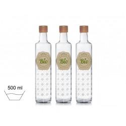 Green bio bottiglia vetro...