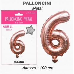 Palloncini mylar rosa oro...