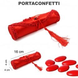 Portaconfetti laurea rosso...