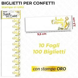 Biglietti per confetti...