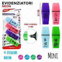 Mini Evidenziatori 4 colori...