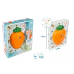 Memobook con squishy carote...