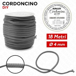 Cordoncino diy 4mm x 18mt...