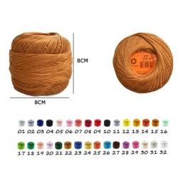 Filo cotone spesso n.6 140m...