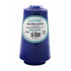 Filo cucito 3000y n.293 blu