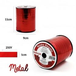 Nastro regalo rosso metal...