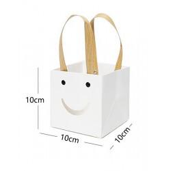 Porta pianta 10x10x10cm bianco