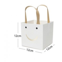 Porta pianta 12x12x12cm bianco