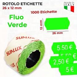 Rotolo etichette 26x12mm...