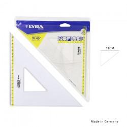 Lyra squadra noflash 45° 31cm