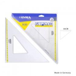 Lyra squadra noflash 45° 36cm