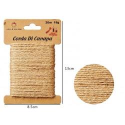 Cordoncino canapa 20cm