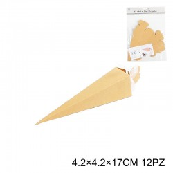 Porta riso 4,2x4,2x17cm 12pz