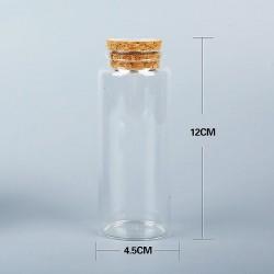 Bottiglia di vetro 12x4,5cm...