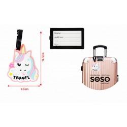 Etichette per bagagli...