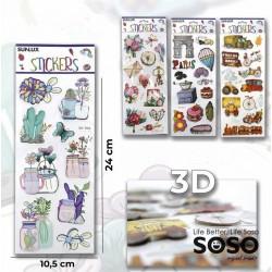 Stickers adesivi 3d...