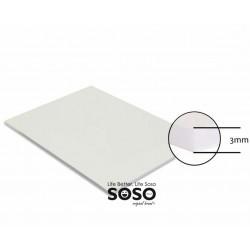 Cartone di spuma bianco...