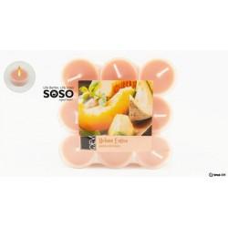 Candela profumata melon 18pz