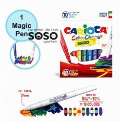 Carioca pennarelli 10col.magic
