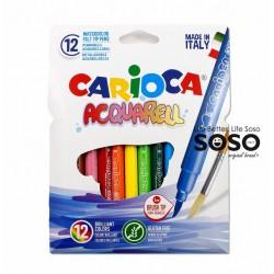 Carioca acquarell 12col.