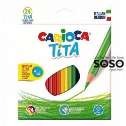 Carioca tita colored pencil...