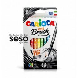 Carioca super brush box 10pz