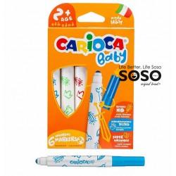 Carioca baby marker 6col.