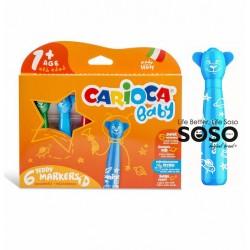 Carioca baby teddy 6 markers