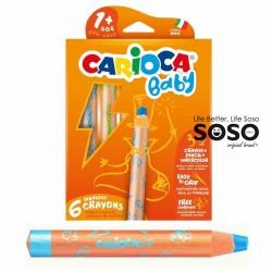 Carioca baby 3-1 crayons...