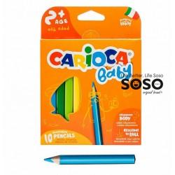 Carioca baby pencil scat. 10pz