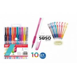 Set penne glitter 0.7mm...