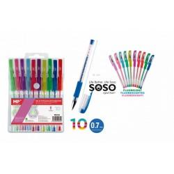 Set penne fluorescenti...