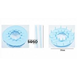 Telaio diametro 10cm +aghi...