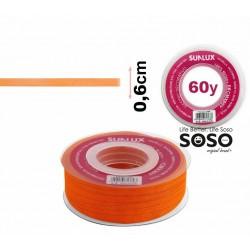 Nastro organza 6mmx60y arancio