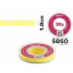 Nastro organza 10mmx30y giallo