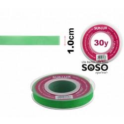 Nastro organza 10mmx30y verde