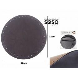 Fondo borsa diametro 22cm