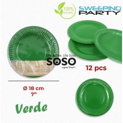 Piatti 100% biodegradabili...