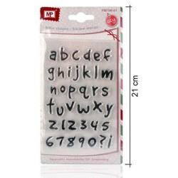 Timbri in silicone DIY - Lettere alfabeto comic - decorazioni per scrapbooking