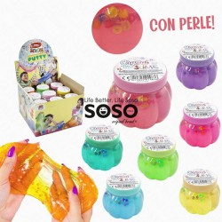 Crystal pearl slime con perle
