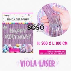 Tenda per party viola laser...