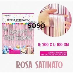 Tenda per party rosa...