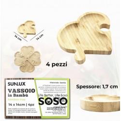 Vassoio in bambu...