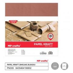 20 Fogli di Carta Kraft...