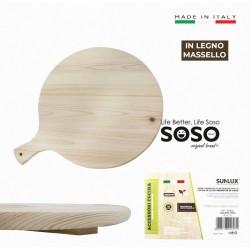 Tagliere pizza in legno...