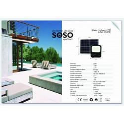 Faro LED solare 60w...