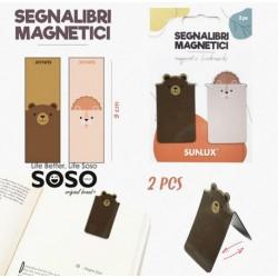 Segnalibri magnetici 2pcs...