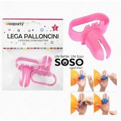 Lega palloncini  rosa 2pcs