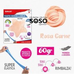 Pasta modellabile 60gr rosa...