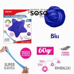 Pasta modellabile 60gr blu